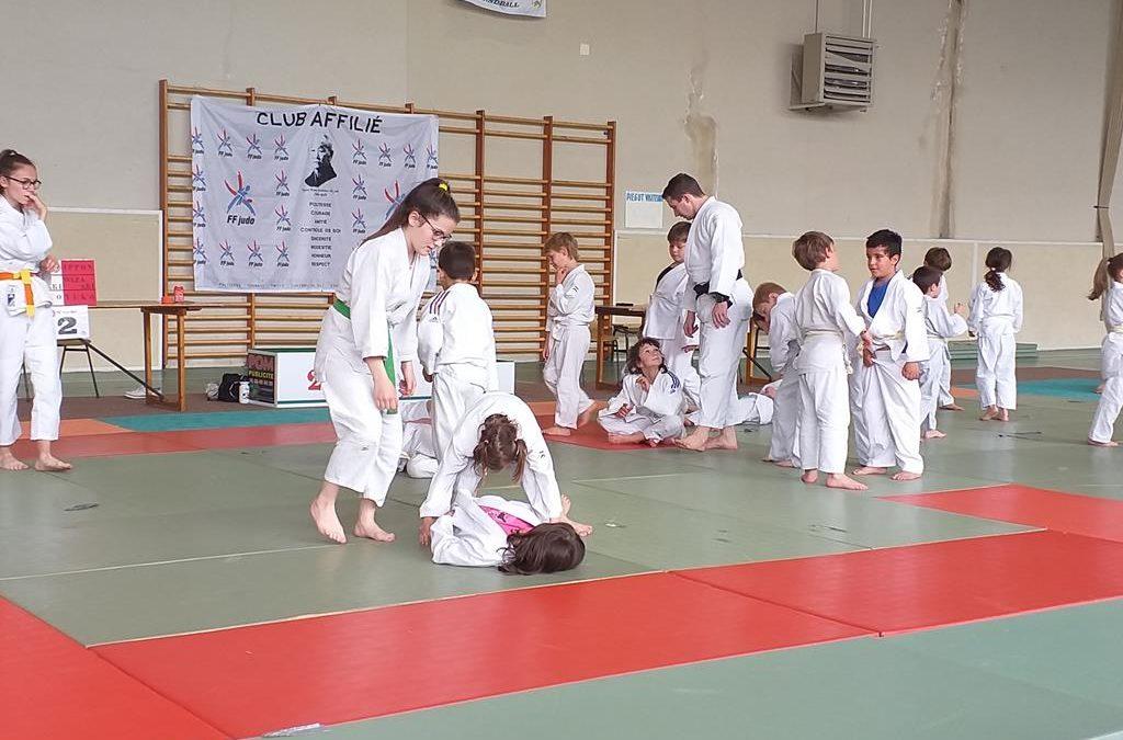 Animation interclubs du Judo-club Piégutain – 11 mai 2019
